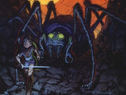 Shelob vs Beren