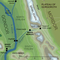 Minas Morgul location