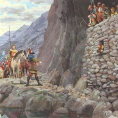 Thorin, Bard e Thranduil by Denis Gordeev