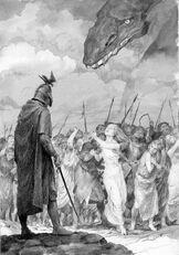 Caduta del Nargothrond by Denis Gordeev
