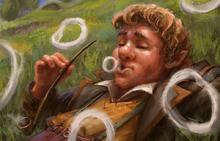Hobbit fumatore