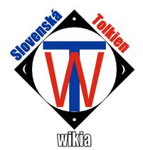 TolkienWikiaSK logo biele pozadie