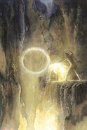 Sauron forgia l'Anello by Alan Lee