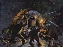 Helm's deep battler