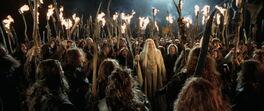 Dunlendings with Saruman