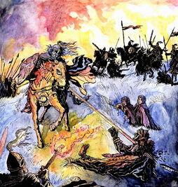 Rohirrim attack by jan pospisil
