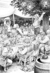 Festa di Bilbo by Denis Gordeev