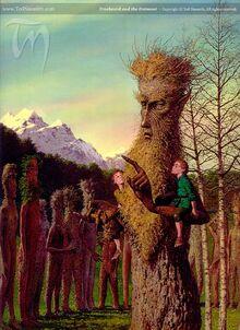 Treebeard and the Entmoot by Ted Nasmith
