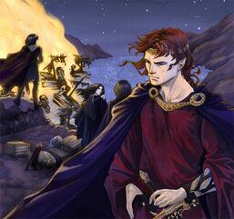 Maedhros alone stood aside