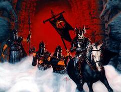 La Bocca di Sauron esce dal Cancello Nero