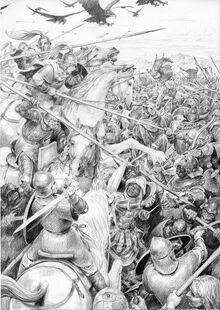Battaglia del Morannon by Denis Gordeev
