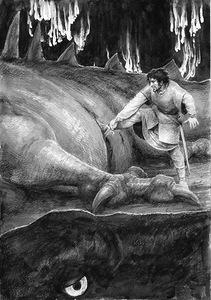 Turin uccide Glaurung by Denis Gordeev