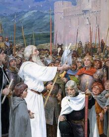 Incoronazione di Aragorn by Denis Gordeev
