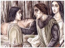 Maeglin Eol and Aredhel