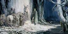 Le porte di Moria by Alan Lee