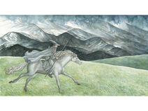 Anke Eißmann - Gandalf and Shadowfax