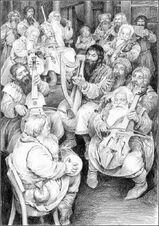 I 13 Nani de Lo Hobbit, by Denis Gurdeev
