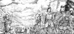 Isildur rivendica l'Anello