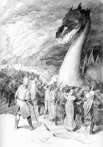 La Caduta del Nargothrond by Denis Gordeev