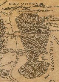 Mappa Bosco Atro