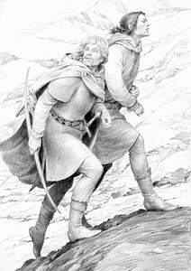 Viaggio verso Gondolin by Denis Gordeev
