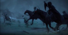 Nazgûl at Sarn ford (Lotr- War in the North)