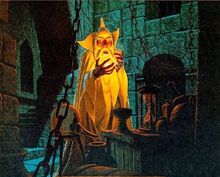 Saruman e il Palantír by Fratelli Hildebrandt