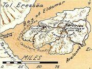 Tol Eressea mappa