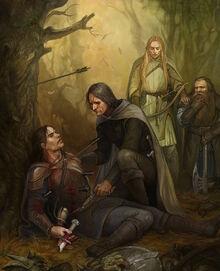 Ultime parole di Boromir, by CG-Warrior