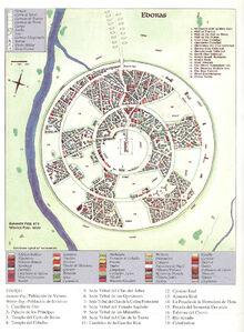 Mappa di Edoras