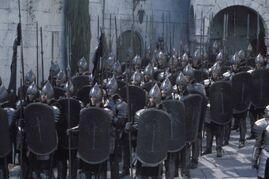 Fanti di Gondor da Il Signore degli Anelli film