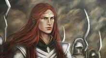 Maedhros leads his army
