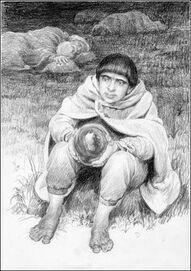 Pipino e il Palantir by Denis Gordeev