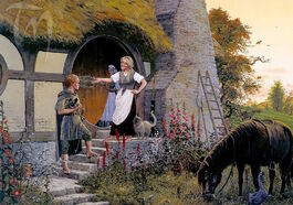 Sam e Rosie Cotton by Ted Nasmith