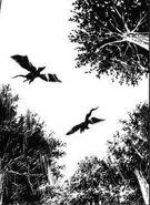 Reptiles voladores de Okawa