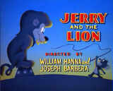 Jerry and the Lion