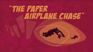 ThePaperAirplaneChase