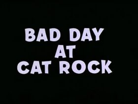 Bad Day at Cat Rock Title Screen