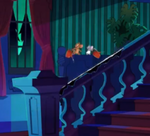 Jerry and Nibbles in the mansion
