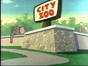 The Hypochondriac Lion - City Zoo