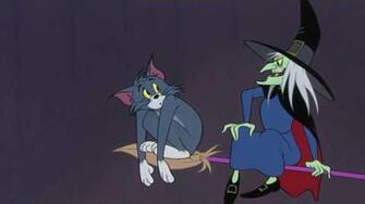 The Witch's Cat Tom & Jerry Cartoon World