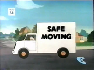 Safe But Not Sorry - Safe Moving truck