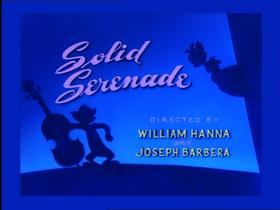 Solid Serenade Title Screen