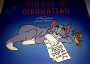A picture Mouse in Manhattan