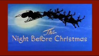 The Night Before Christmas - Tom & Jerry.