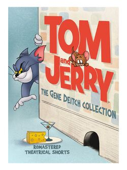 Tom and Jerry Gene Deitch DVD Cover
