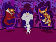 Spook House Mouse - Devil Dog, Spike, Clown Monster, Tom and Jerry