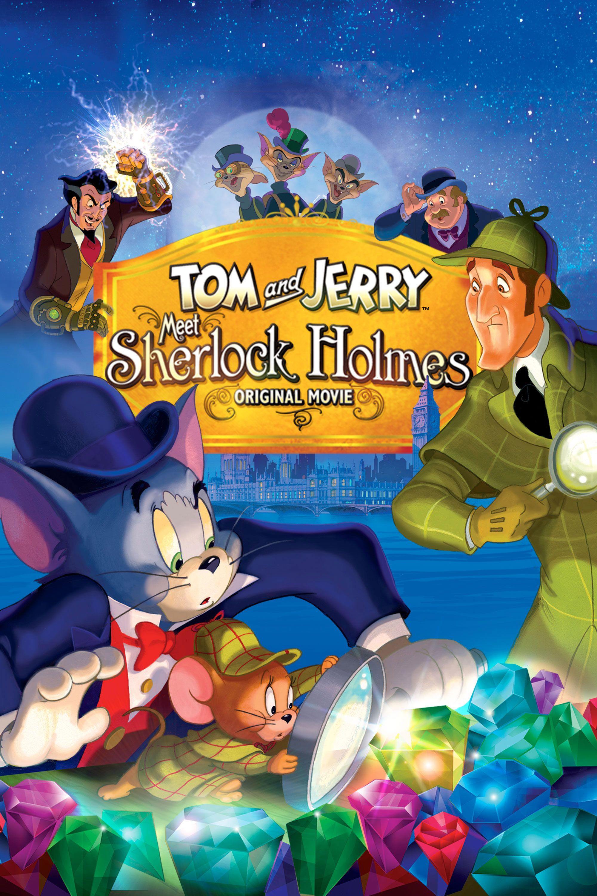 Tom and Jerry Meet Sherlock Holmes-1-