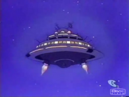 Outer Space Rover - UFO ship