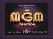 Original mgm cartoon logo